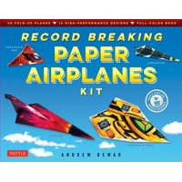 Record Breaking Paper Airplanes Kit (Other)