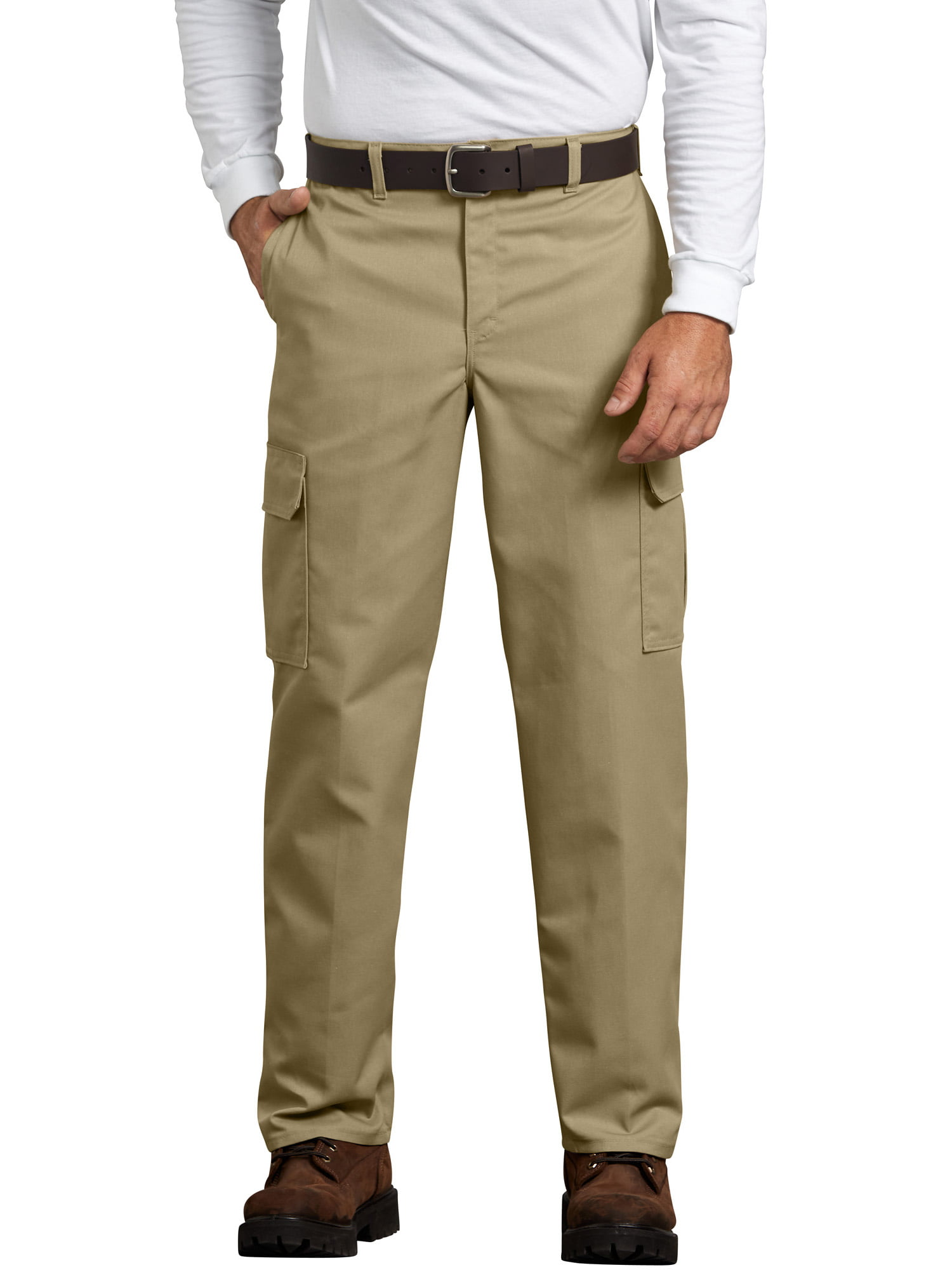 ab3b2d066e Genuine Dickies - Men's Relaxed Fit Flat Front Cargo Pant - Walmart.com