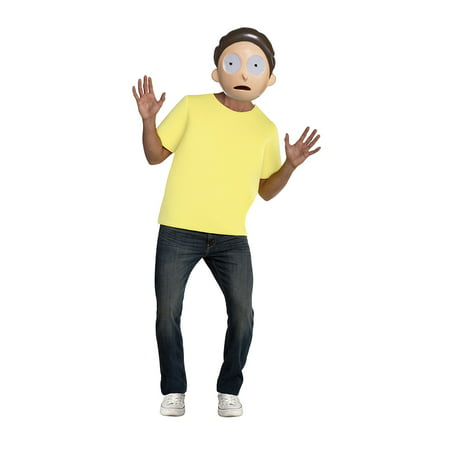 Rick and Morty Morty Men's Adult Halloween Costume for $<!---->