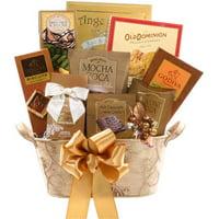 Alder Creek Golden Decadence Gift Basket