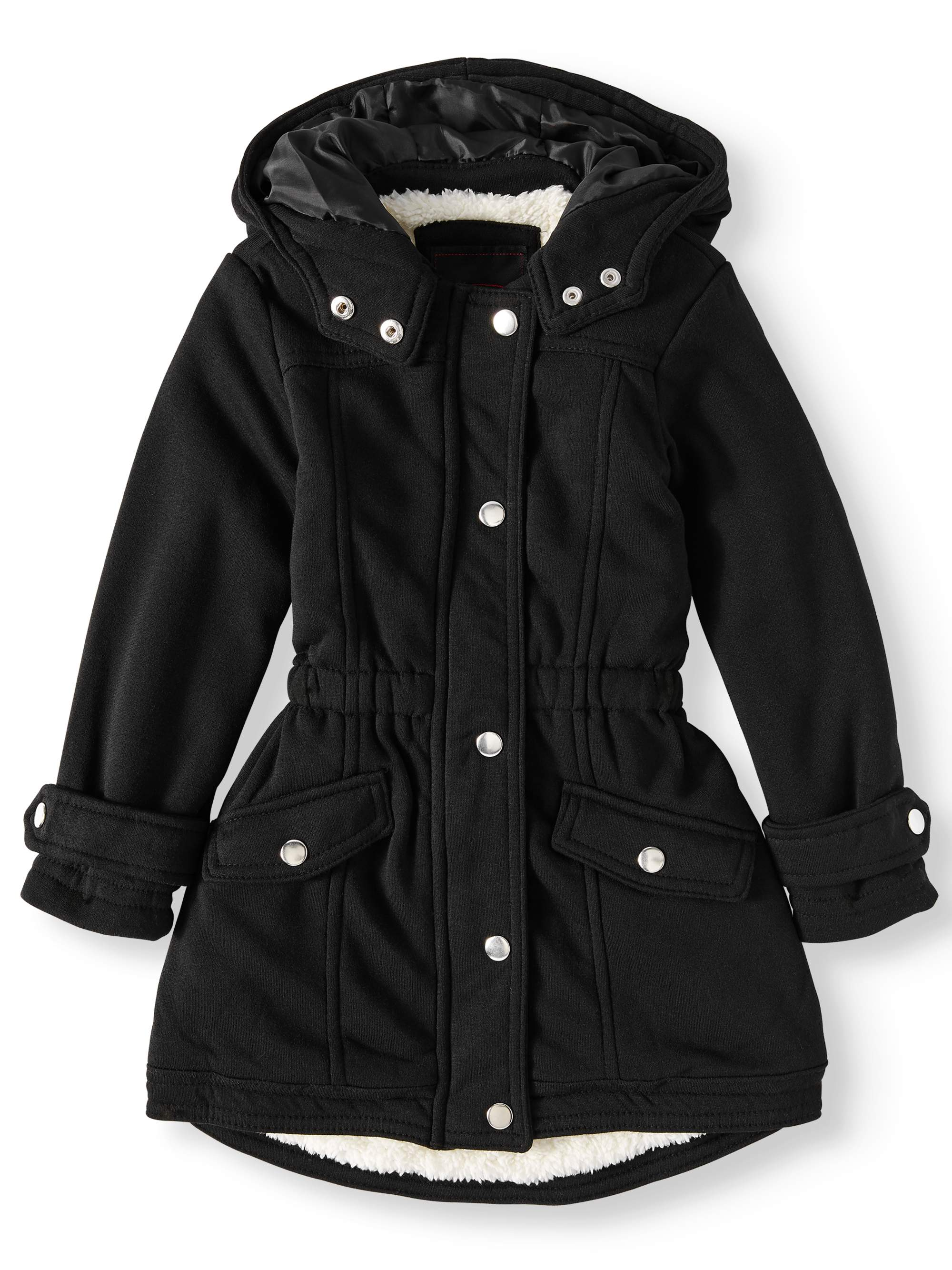c03a7285ef29 Yoki - Sherpa Lined Fleece Anorak Jacket (Little Girls   Big Girls ...