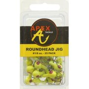 JIG HEADS 1/8OZ 25PK CHT Multi-Colored