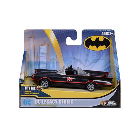 DC Legacy Series 1966 Bat Mobile Batman Car