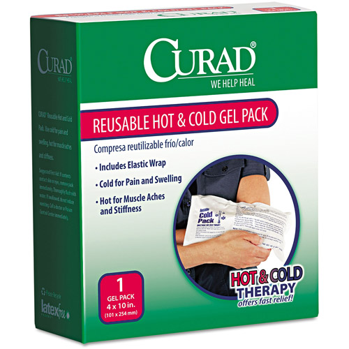Curad Reusable Hot & Cold Gel Pack with Protective Cover