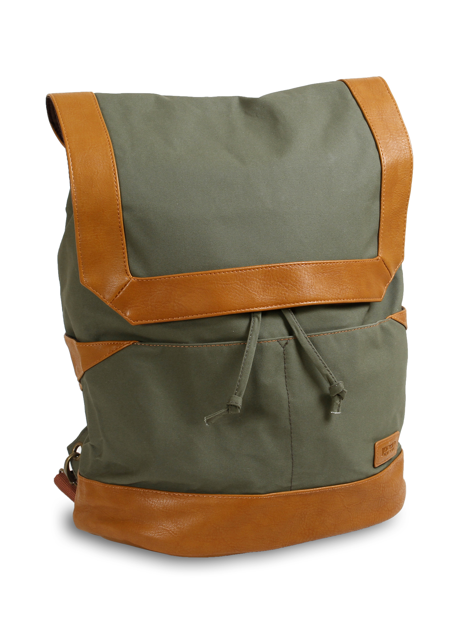J World Alex Canvas Backpack, Multiple Colors