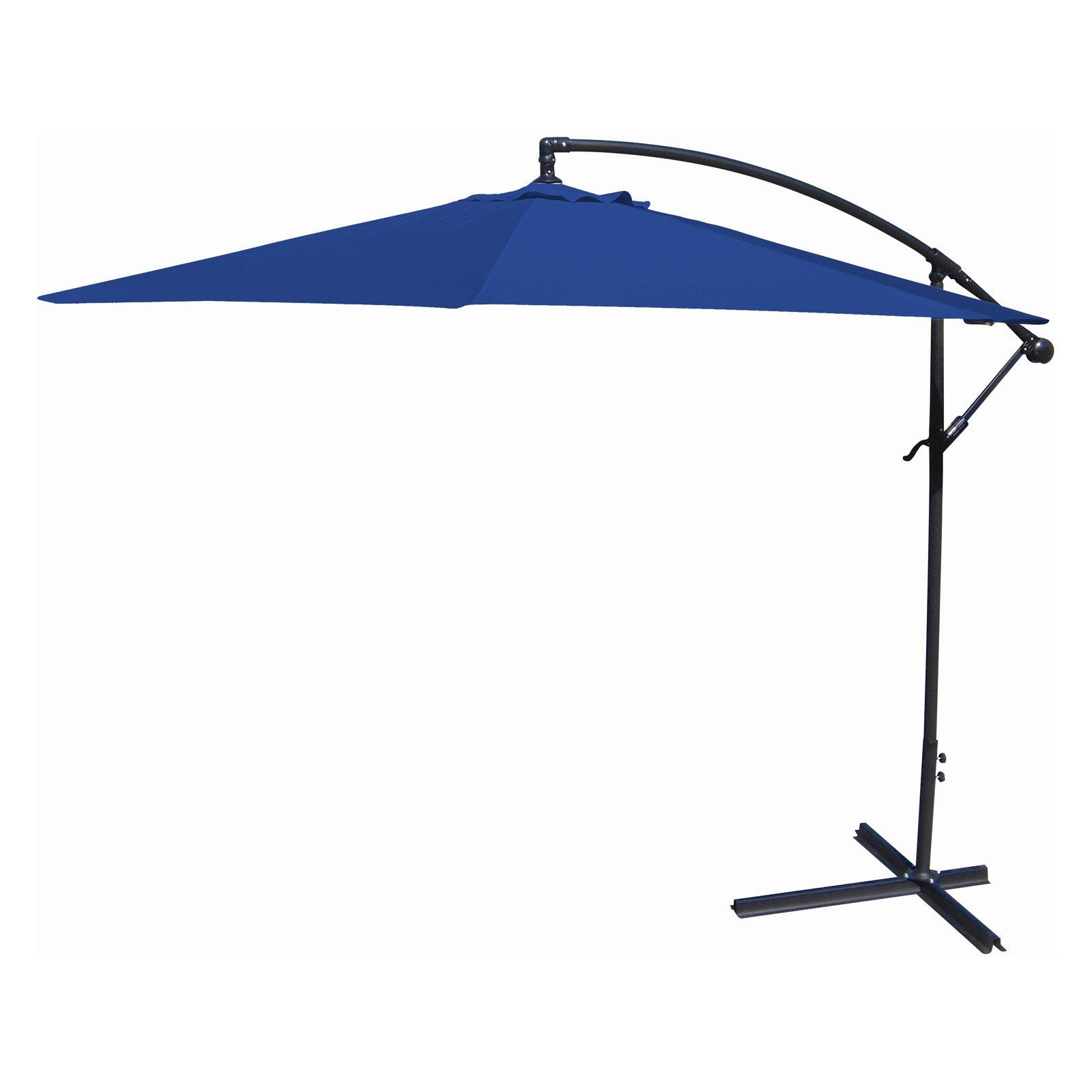 Jordan Manufacturing 10' Offset Umbrella, Multiple Colors