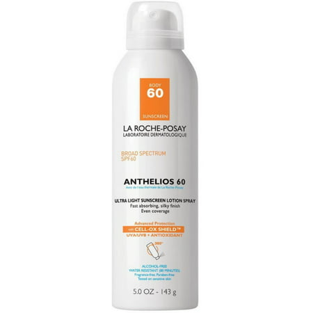 Laroche Posay Sun Protection Cream - La Roche Posay La Roche Posay Anthelios 60 Sunscreen Lotion Spray, 5 oz