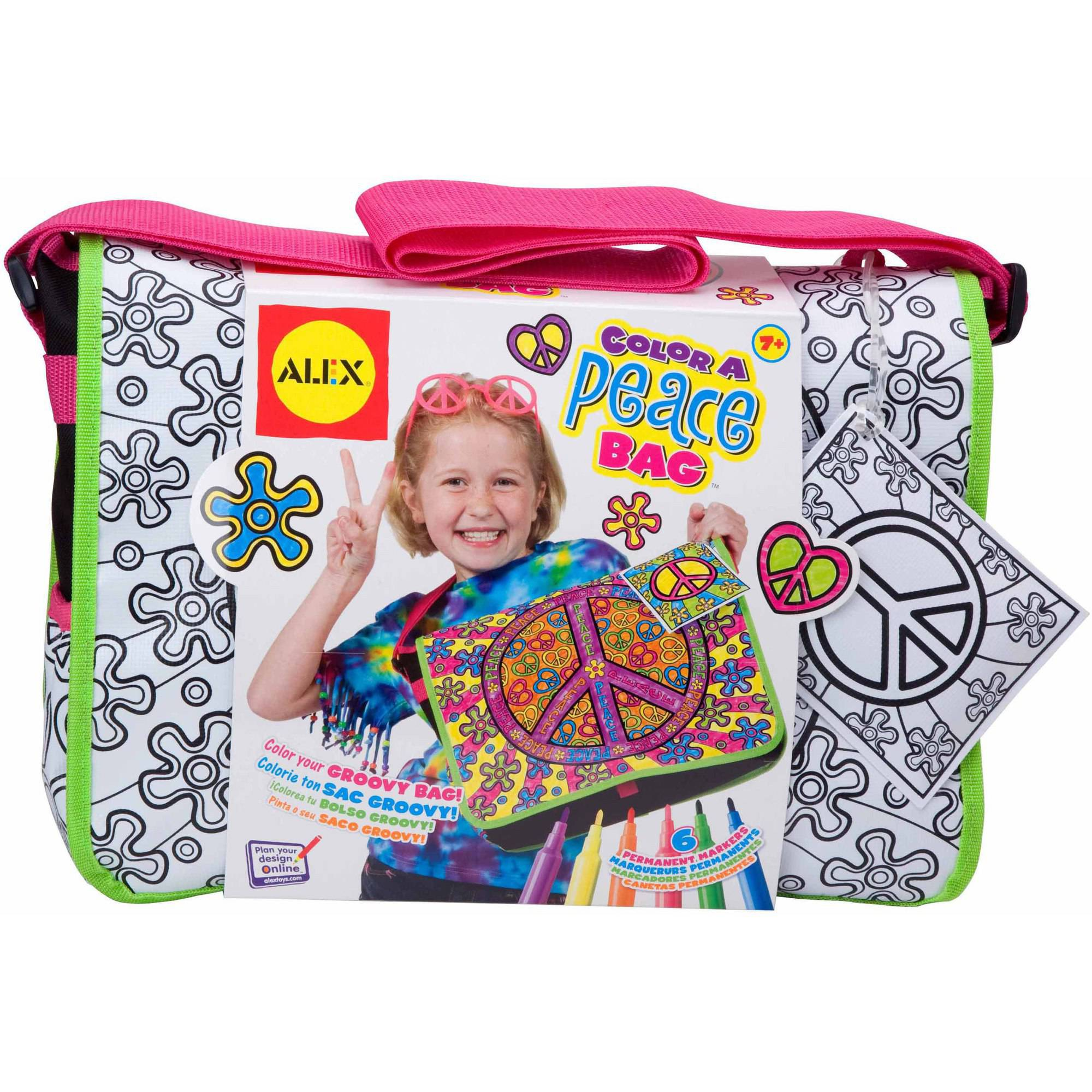 ALEX Toys Craft Color A Peace Bag