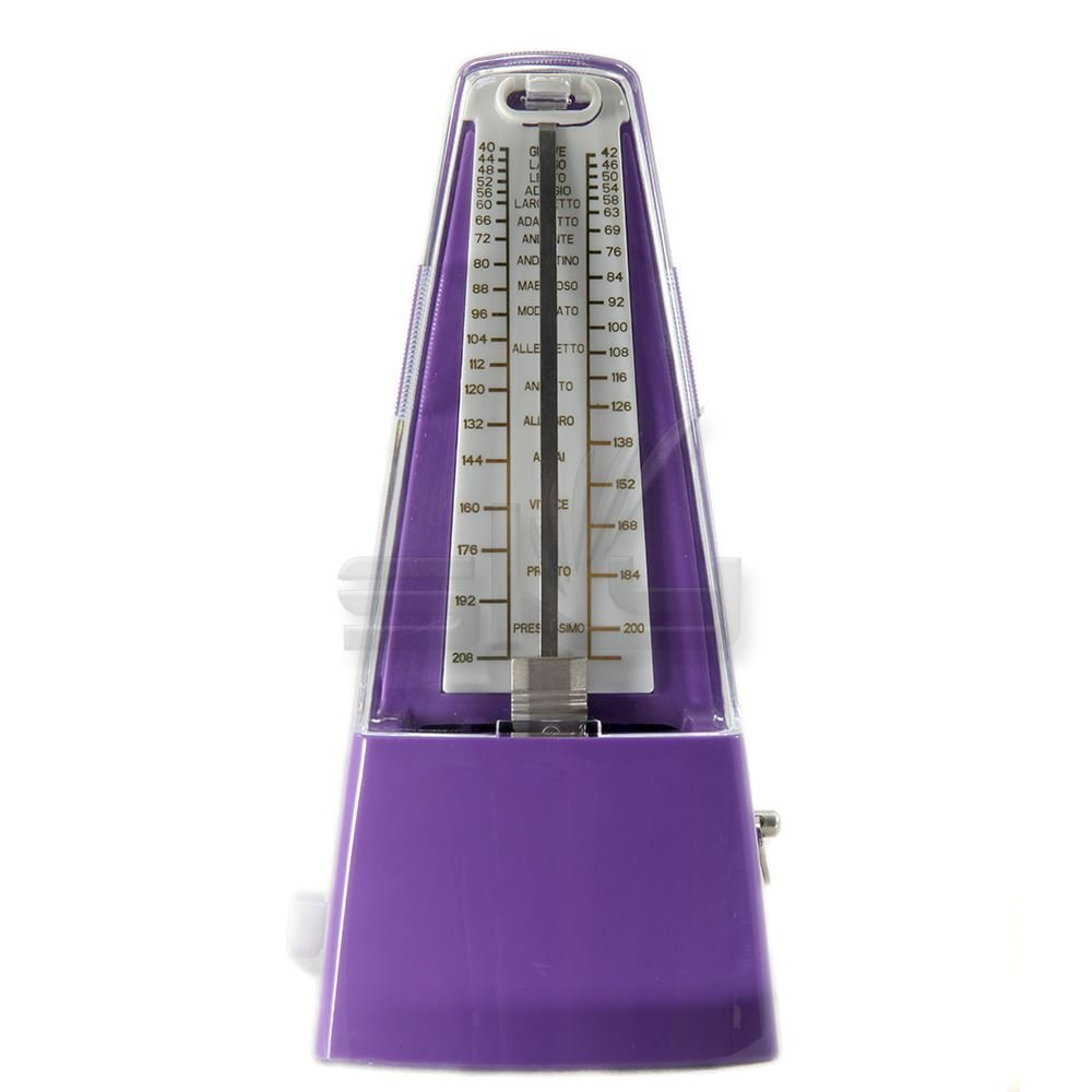 High Quality New Style SOLO SOLO350 Mechanical Metronome Purple Color by Solo