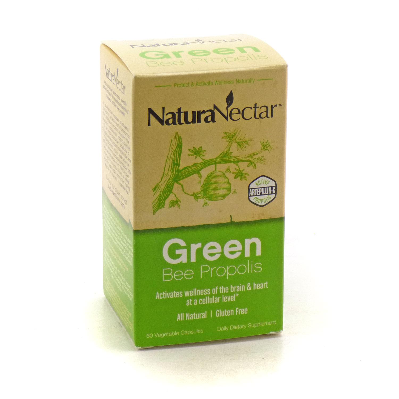 Green Bee Propolis by Natura Nectar - 60 Capsules