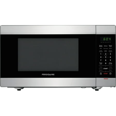Frigidaire Stainless Steel Top - Frigidaire 1.6 Cu. Ft. Stainless Steel Microwave Oven,