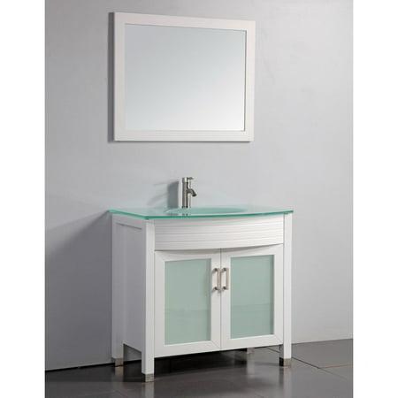 legion furniture wa3236w 36 in single bathroom vanity set white