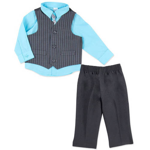 George Toddler Boys' 4-Piece Dressy Vest Set