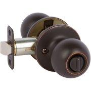 Callan2 G2KR1021 Fairfield Series Grade 2 Privacy Knob Set, Satin Nickel