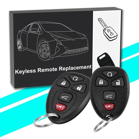 2 Remote Start Keyless Entry Key Fob Clicker Control for