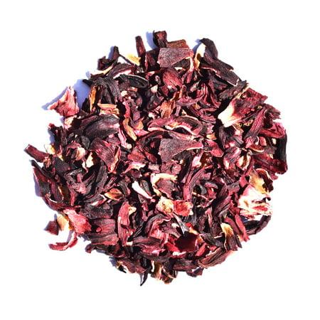 - Hibiscus - Herbal - Decaffeinated - Flower Tea - Loose Leaf Tea - 2oz