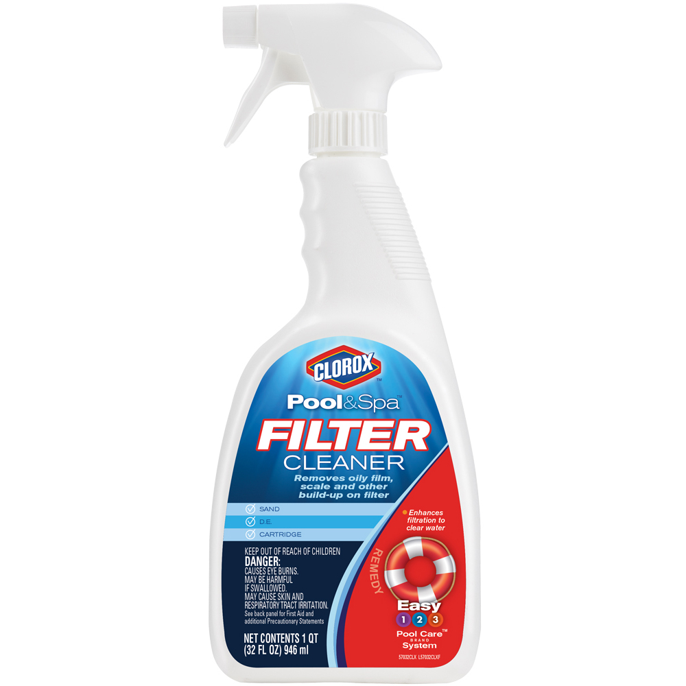 Clorox Pool and Spa Filter Cleaner, 32 oz - Walmart.com