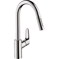 Hansgrohe Focus HighArc Kitchen with PullDown 1.75 GPM Chrome