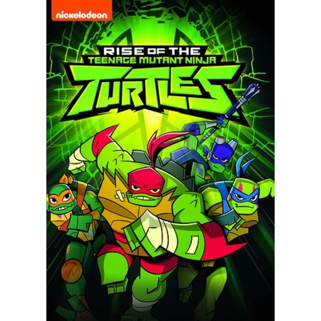 Rise Of The Teenage Mutant Ninja Turtles (DVD) (Teenage Mutant Ninja Turtles Fast Forward Episodes)