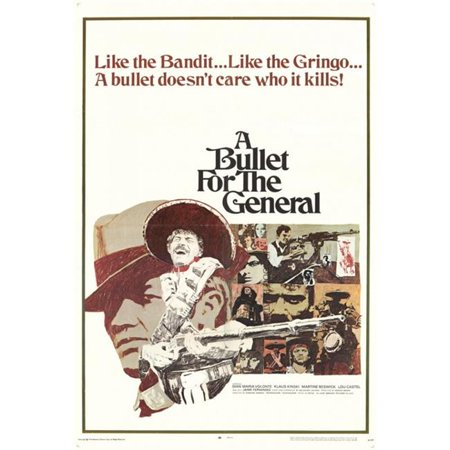 Posterazzi MOVCF9383 A Bullet for the General Movie Poster - 27 x 40 in. - image 1 de 1