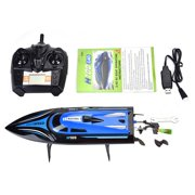 Yosoo 2.4GHz Remote Control 4 Channel 25km/h Boat Racing Speedboat Model Toy Ship , RC Speed Boat,RC Boat