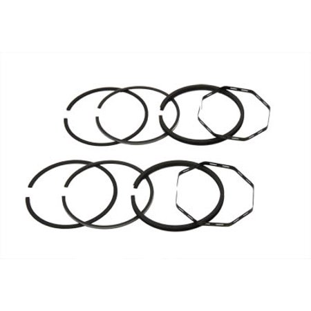 80 Shovelhead Piston Ring Set .040 Oversize,for Harley Davidson,by V-Twin ()