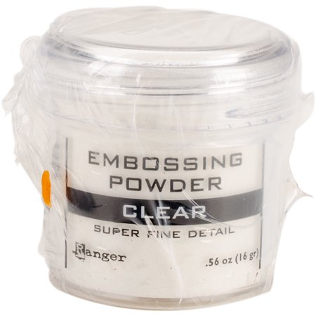 Ranger Embossing Powder-Super Fine Clear Super Fine Detail Embossing Powder