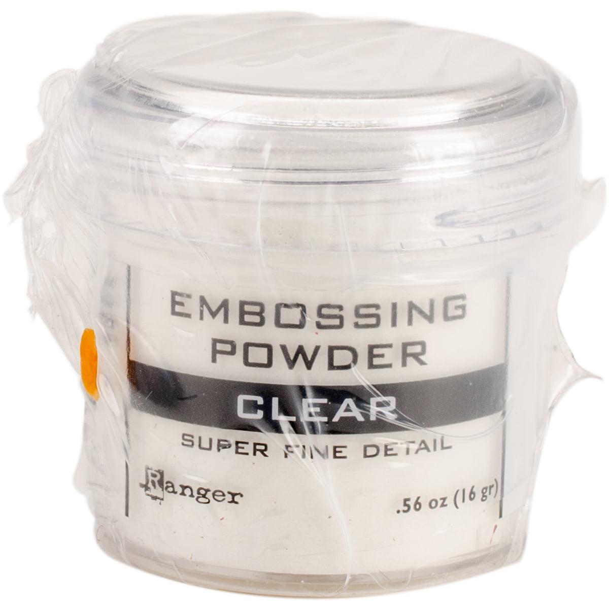 Ranger Embossing Powder-Super Fine Clear
