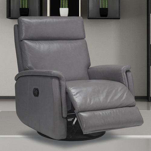 Sofas to Go Cosmo Leather Swivel Recliner