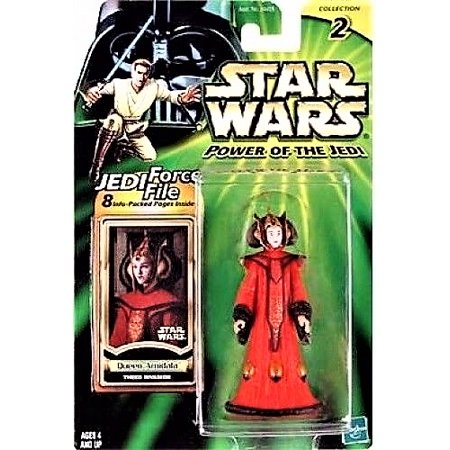 Star Wars Power of the Jedi Queen Amidala Action Figure