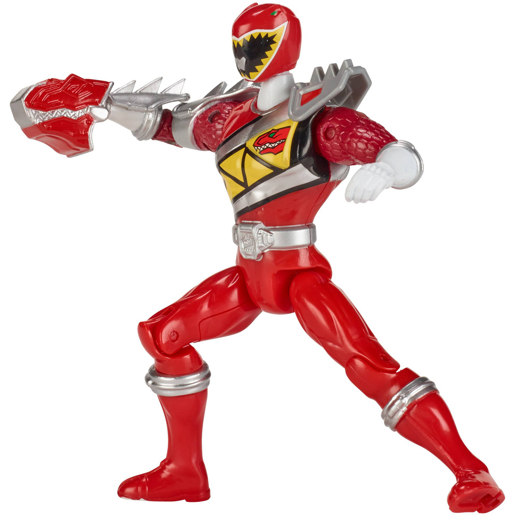 Power Rangers Dino Super Charge Dino Steel Red Ranger