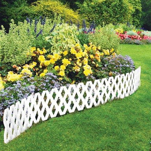 4 Pc Outdoor Flexible Lattice Weatherproof Plastic Garden