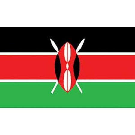 Kenya Flag On A Stick 12