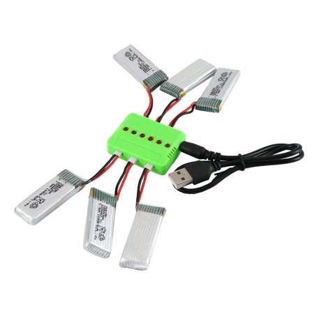 3.7V 520mAh Rechargeable Battery Drone Battery Li-on Battery for Hubsan H107P - image 6 of 6
