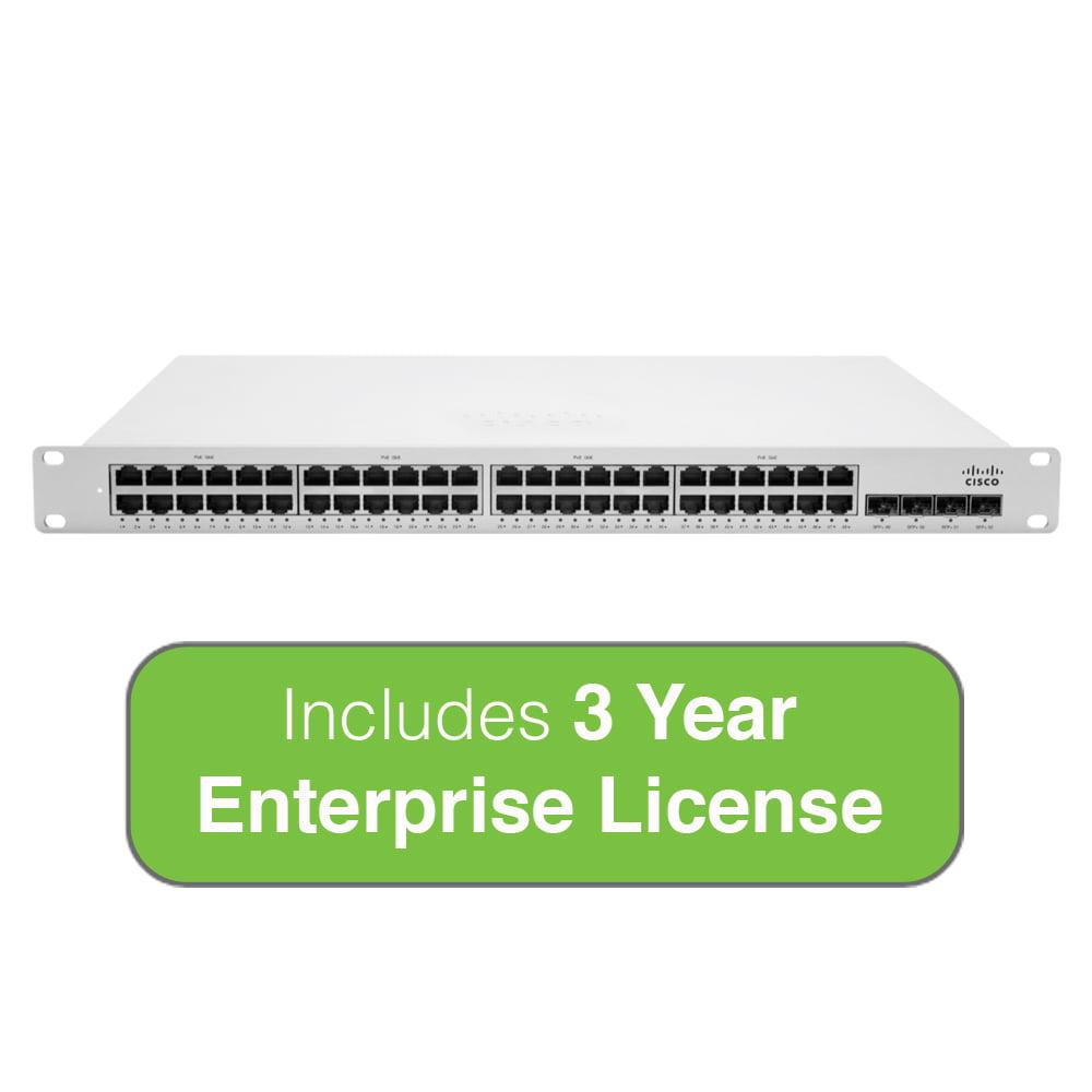 Cisco Meraki Cloud Managed MS350 Series 48 Port Gigabit S...