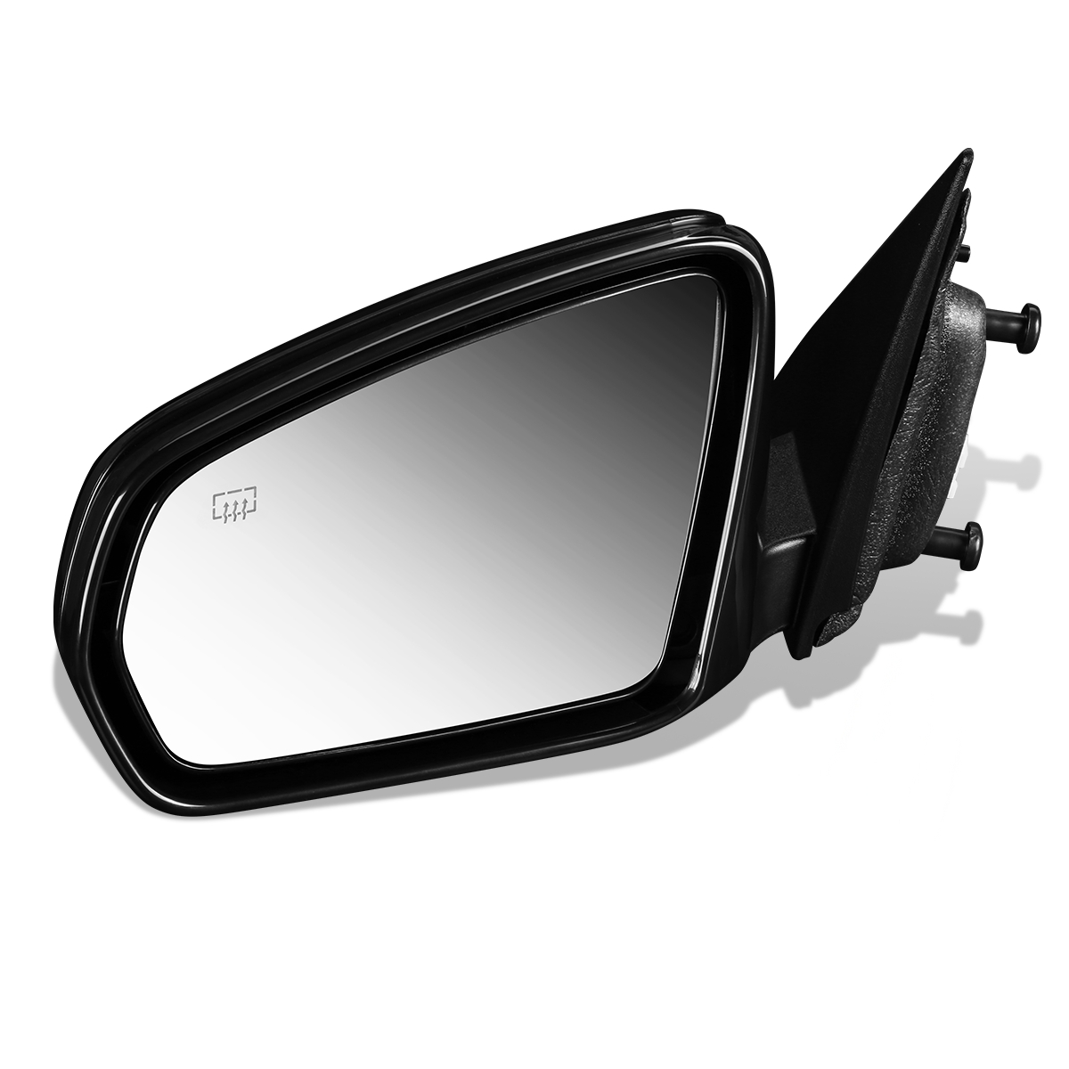 Exterior Power Heated Manual Folding Mirror Black LH Side for 08-14 Avenger
