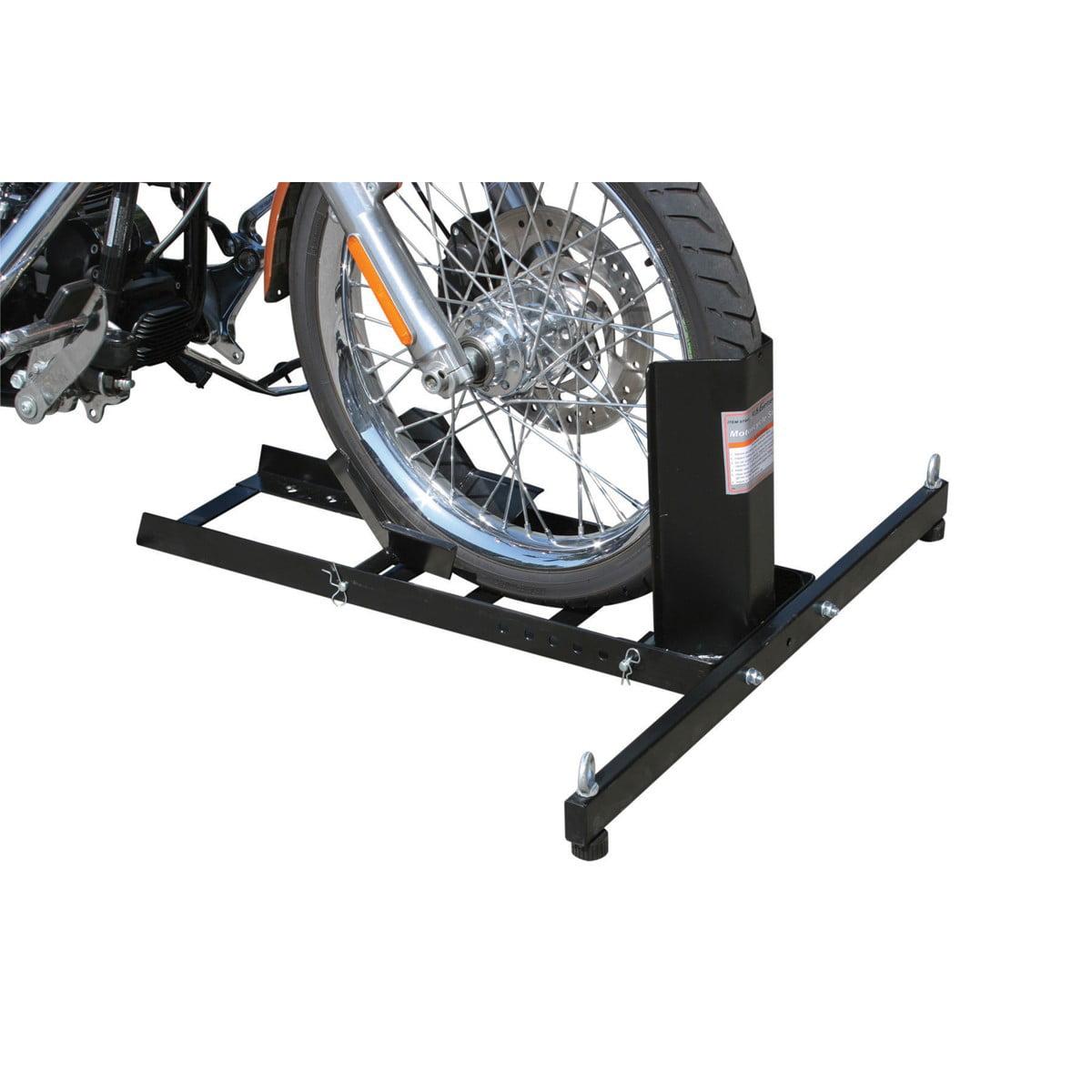 pittsburgh motorcycle motorcycle stand wheel chock 1800 lb capacity