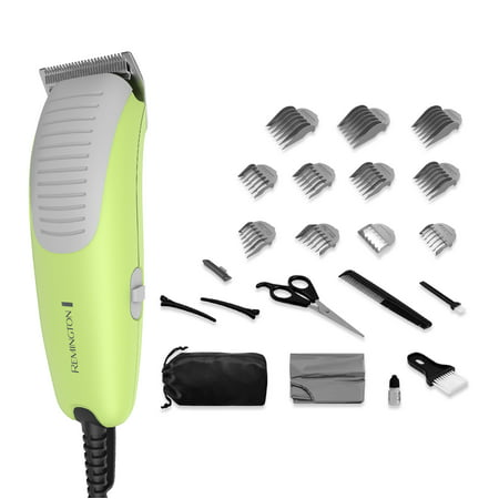 Remington Kids Clipper Haircut Kit- Ultra Quiet, Green, HC5080