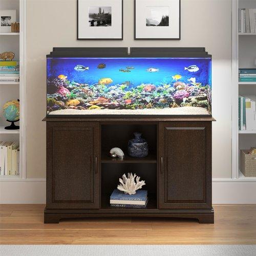 Charlton Home Wilton 75 Gallon Aquarium Stand