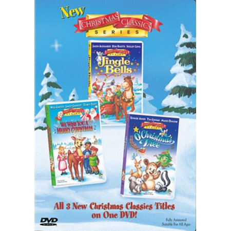 new christmas classics series jingle bells we wish you a merry christmas o - Christmas Classics Dvd