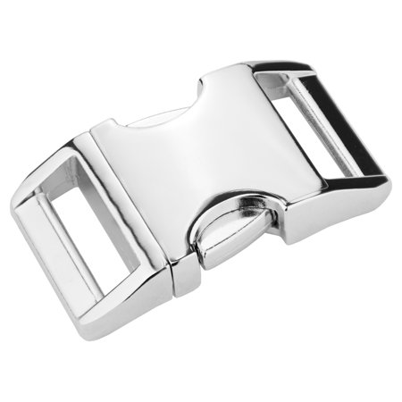 Release Buckle - 1 Inch Contoured Aluminum Side Release Buckles