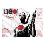 Bloodshot Take Aim Poly 20X28 Pillow Case White One Size