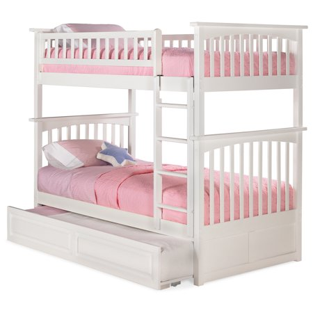 Atlantic Furniture Columbia Bunk Bed With Trundle