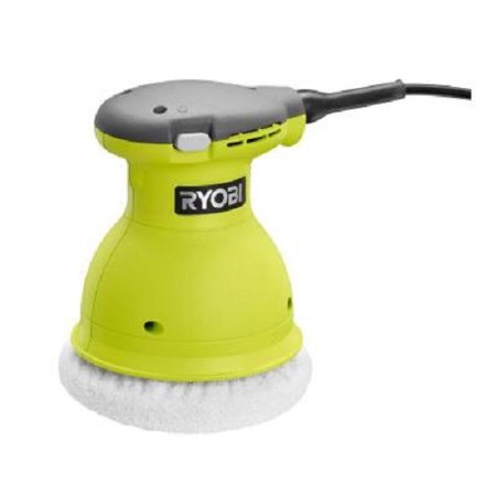 Factory-Reconditioned Ryobi ZRRB61G 0.5 Amp 6 in. Orbital Buffer (Green) (Refurbished) Batman & Amp ; Robin
