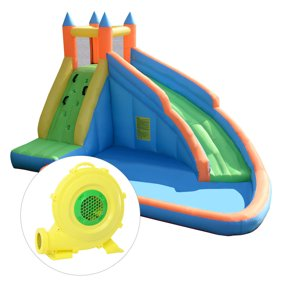 Bounceland Water Slide With Playstation Bounce House Walmart Com