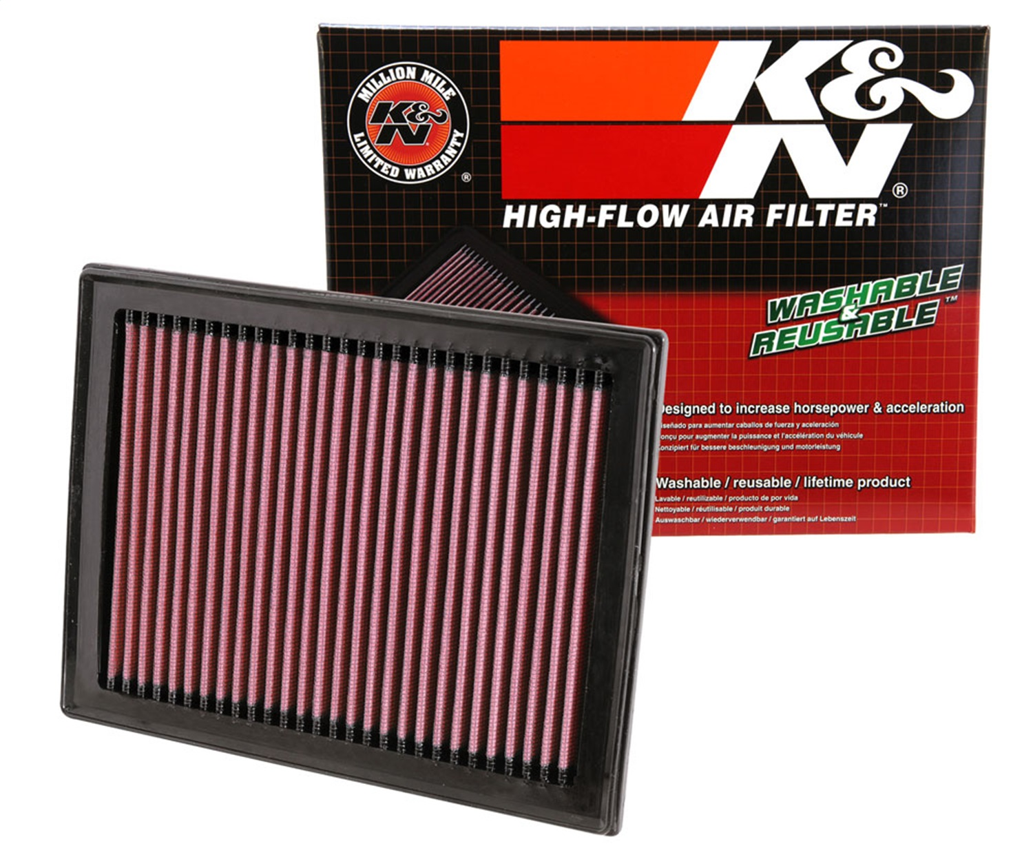 Air Filter 33-2409 K/&N Genuine Top Quality Replacement New