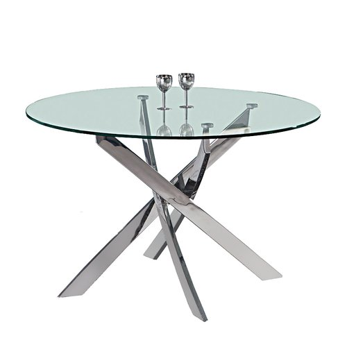 Everly Quinn Shirlene Round Dining Table