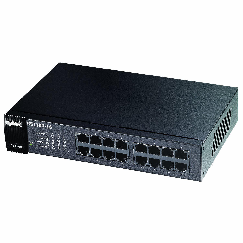Zyxel 16-Port Gigabit Ethernet Unmanaged Switch