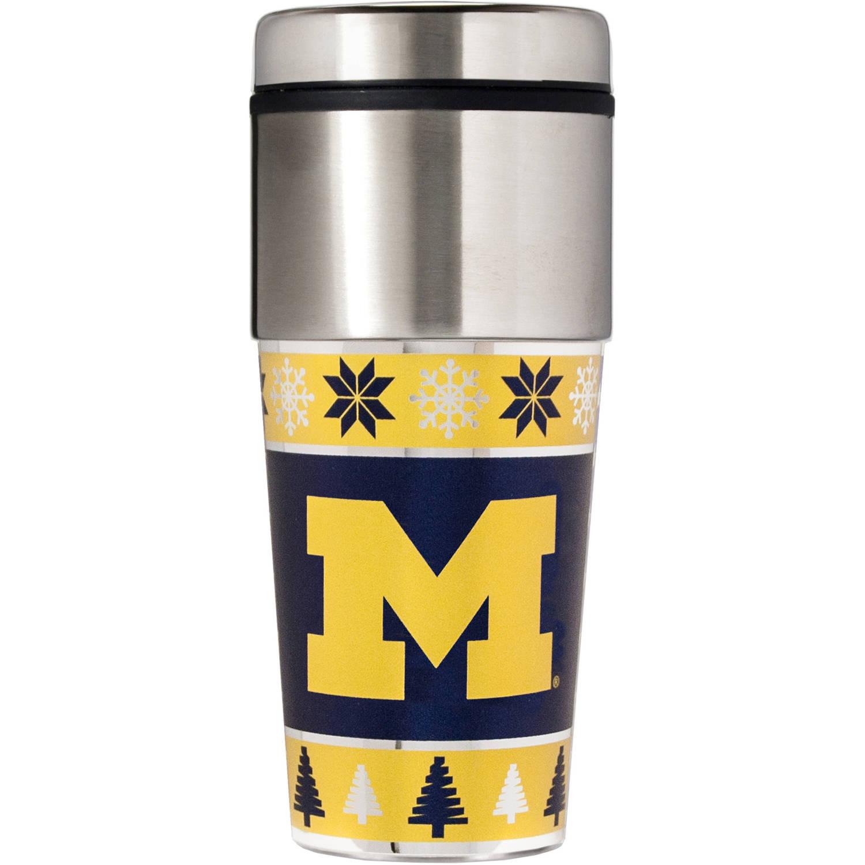 NCAA Holiday Travel Mug