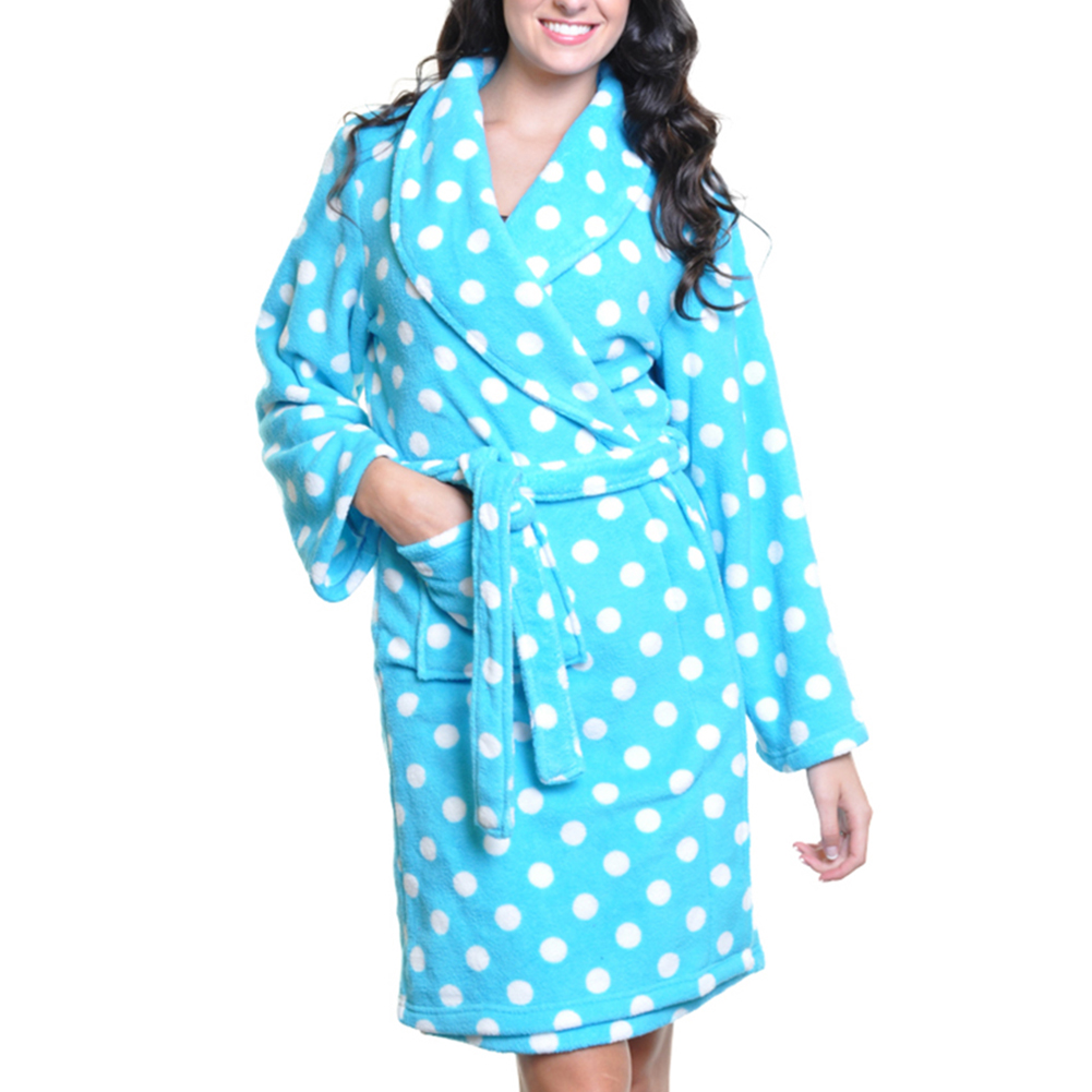 Angelina Premium Micro-Fleece Bathrobes